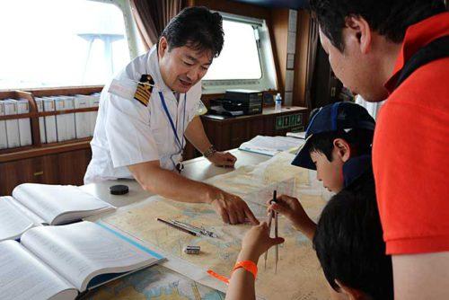 20190723nyk6 500x334 - 日本郵船/横浜「うみ博」で巨大自動車船内部を一般公開