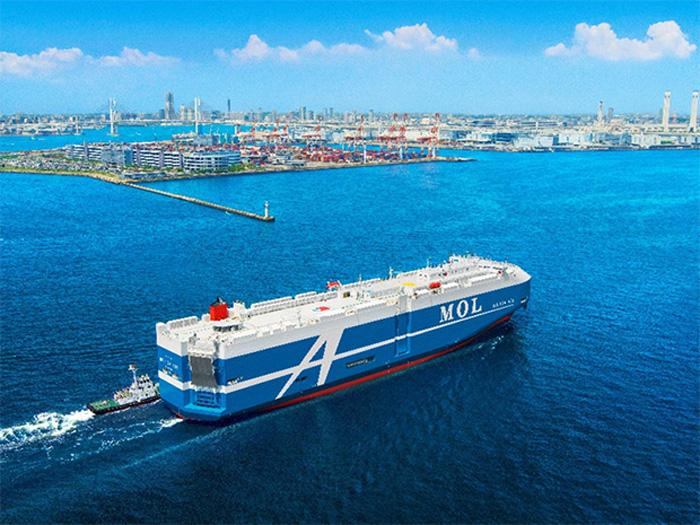 20190724mol - 商船三井/シップ・オブ・ザ・イヤー2018で自動車運搬船が大賞