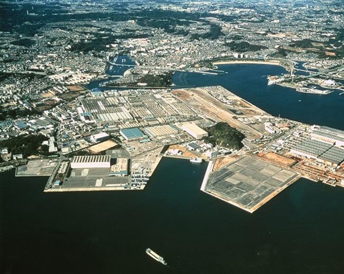 上空から見た追浜4地区