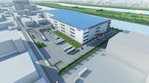 20190726esr1 500x281 - ESR/埼玉県戸田市で8.6万m2のマルチテナント型物流施設着工
