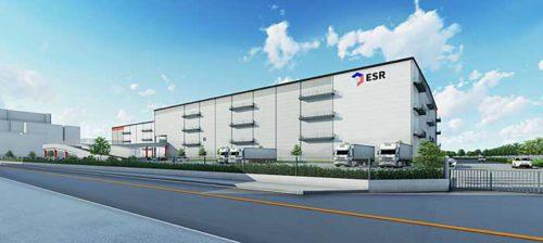 20190726esr2 500x224 - ESR/埼玉県戸田市で8.6万m2のマルチテナント型物流施設着工