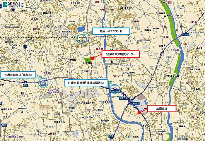 20190729daiwab2 - 大和物流/改正物効法認定、埼玉県草加市に1.4万m2の物流施設を着工