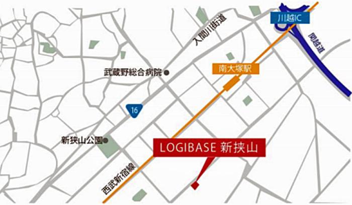 「LOGIBASE 新狭山詳細図