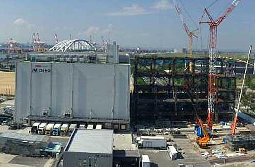 大阪舞洲物流センター2期工事