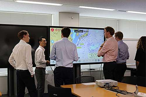 20190805nyk3 - 日本郵船/オランダの工科大学生に環境・デジタライゼーションの取組紹介