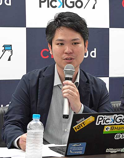 CBcloudの松本CEO