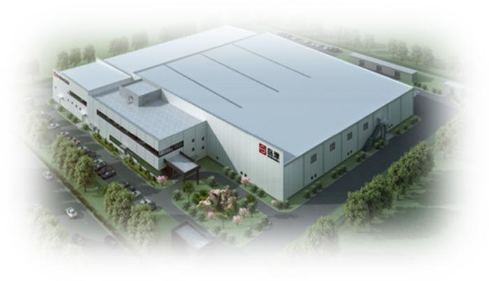 新工場の俯瞰イメージ
