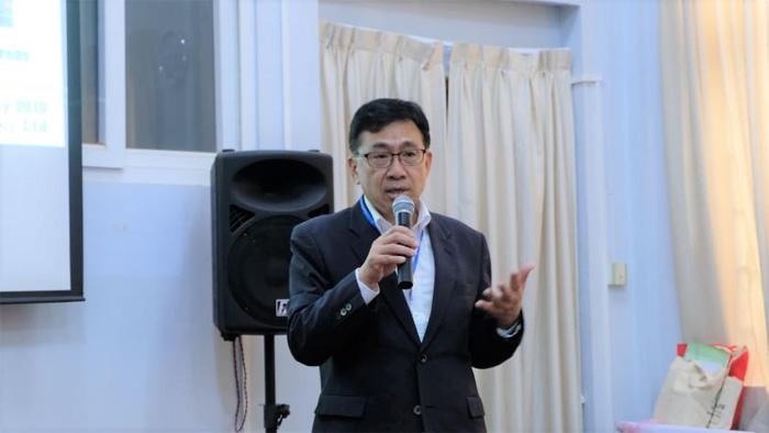 20190808yusenlogi1 - 郵船ロジ/ミャンマーのイエジン農業大学でSCMの講義を実施