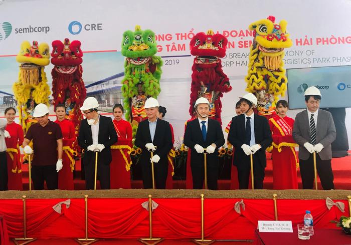 20190809cre1 - シーアールイー/ベトナム・ハイフォンに1.4万m2の倉庫を着工へ