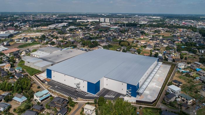 20190819lassal2 - ラサール/茨城県つくばみらい市に3.8万m2の物流施設竣工