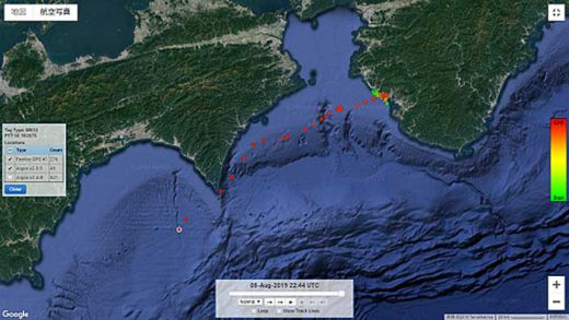 20190819nyk2 520x293 - 日本郵船/絶滅危惧種アカウミガメの生態を調査