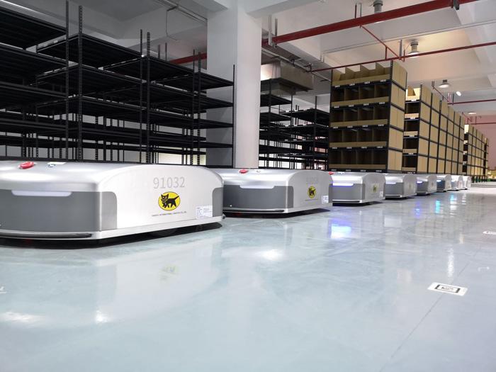 20190819yamato1 - ヤマトHD/中国でEC企業に自動搬送ロボット活用物流サービス提供