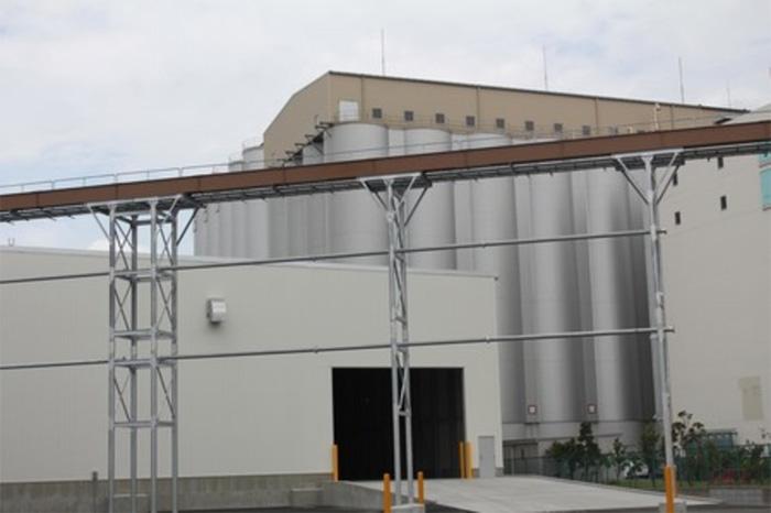 20190823nippn - 日本製粉/千葉工場にふすまバラ出荷設備竣工