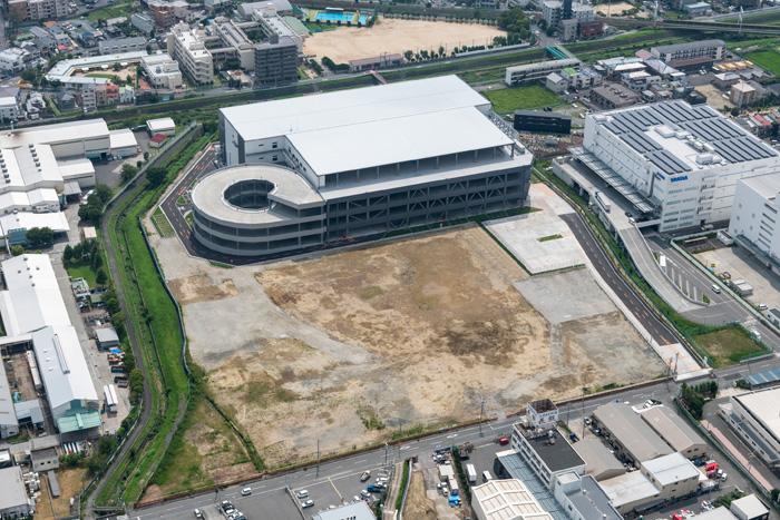 関西総合センターの空撮