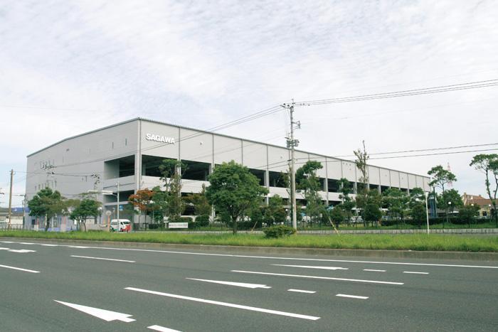 苅田営業所(九州デバンニングセンター)遠景