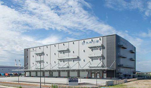 20190905nisshin21 520x303 - 日新/福岡市で子会社が2.2万m2の2温度帯倉庫竣工