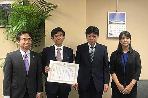 20190906nyk - 日本郵船/「船員安全取組大賞」の特別賞受賞