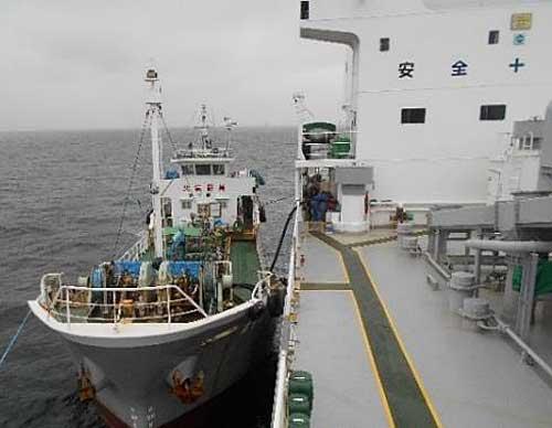 20190911kokudo - 国交省/内航船でSOx規制適合油による正常運航を確認