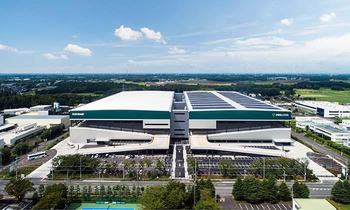 20190920prologi21 - プロロジス/茨城県つくば市に7万m2のZOZO専用物流施設竣工