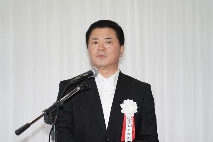 プロロジスの山田御酒社長