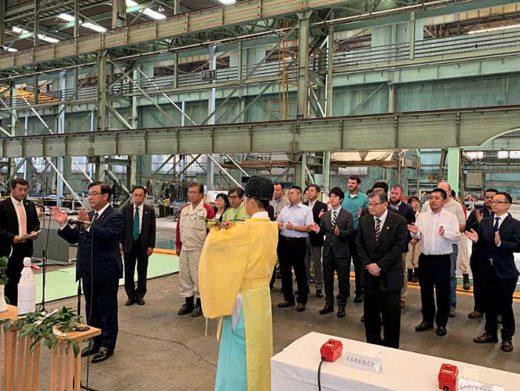20190924nyk 520x391 - 日本郵船/自動車専用LNG船の建造に着手