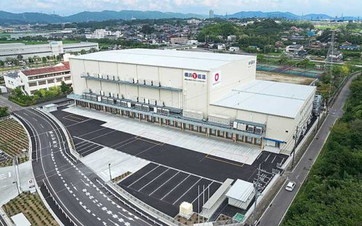 20190925daiwa 520x325 - 大和物流/愛知県小牧市で1.4万m2の冷凍・冷蔵物流施設竣工