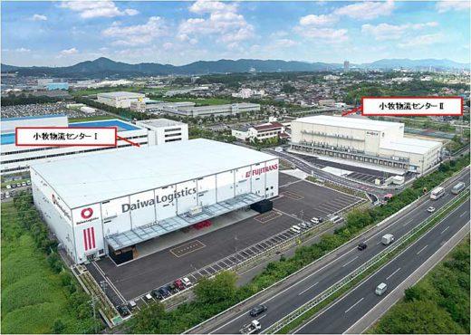 20190925daiwa1 520x370 - 大和物流/愛知県小牧市で1.4万m2の冷凍・冷蔵物流施設竣工