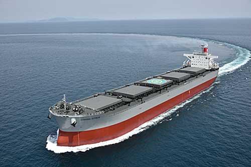 2019911kline - 川崎汽船/電源開発向け8.8トン型石炭運搬船を竣工