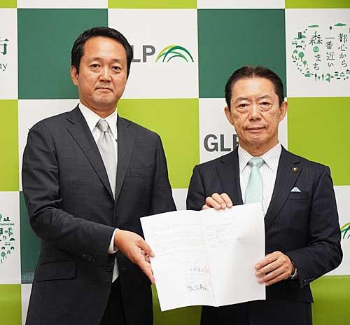 20191001glp - 日本GLP/流山市の物流施設へ880人受け入れ、災害協定締結