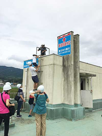 20191002nyk21 - 日本郵船/社員などが東日本大震災被災地で支援活動