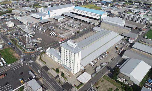 20191002sline 520x313 - エスラインギフ/岐阜・本社に飲料保管自動倉庫を建設