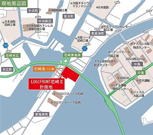 20191003nittetsu1 - 日鉄興和不動産/兵庫県尼崎市に10万m2の専用物流施設
