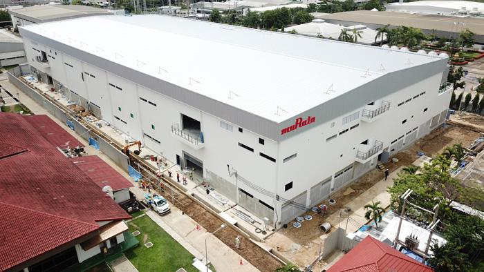 アンテナコイル生産用の新生産棟