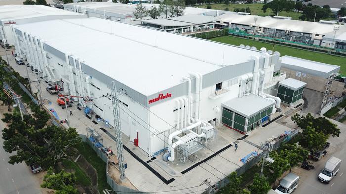 EMIフィルタ生産用の新生産棟