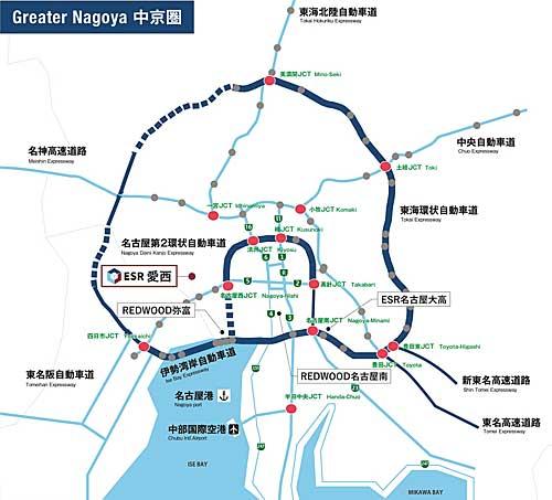 20191007esr1 - ESR/投資額100億円、愛知県愛西市に6.3万m2の物流施設