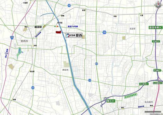 20191007esr2 520x368 - ESR/投資額100億円、愛知県愛西市に6.3万m2の物流施設