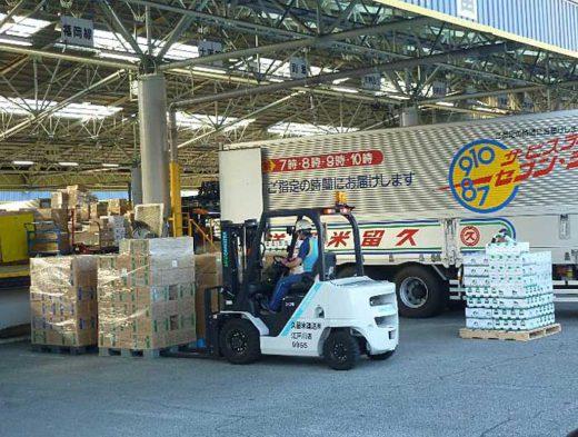 20191007jmt2 520x393 - 日本自動車ターミナル/葛西TTで国交省の災害物流研修