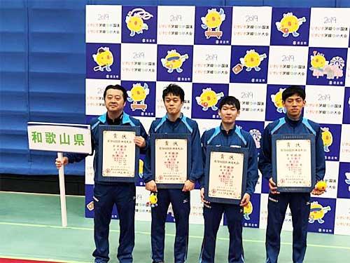 20191008nittetsu - 日鉄物流/卓球部が茨城国体で3位入賞