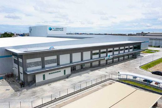 20191009senko 520x345 - センコー/タイNo.1のコールドチェーンへ、冷凍・冷蔵拠点竣工