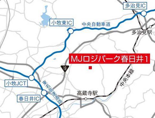 20191009trc1 520x397 - TRC/愛知県春日井市の物流施設など2件のPM業務受託