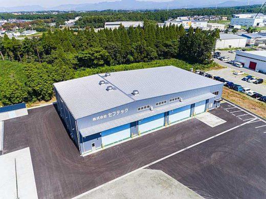 20191010nikkon2 520x389 - ニッコンHD/熊本にダブル連結トラック対応の整備工場