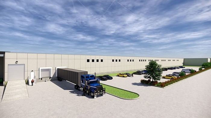 拡張するサルエアー社 ミシガンシティ工場(イメージ)