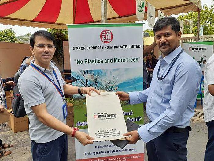 地域の緑化イベントへの参加
