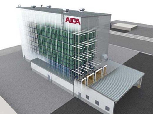 20191017aica 520x389 - アイカ工業/物流コスト大幅削減へ、福島工場に自動倉庫建設