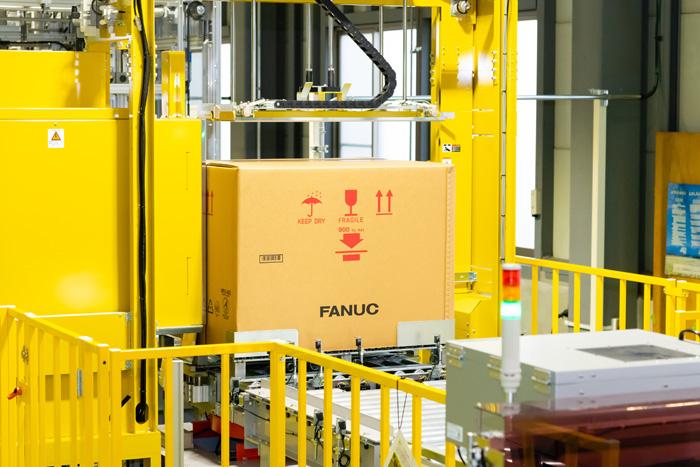 梱包自動化ロボット