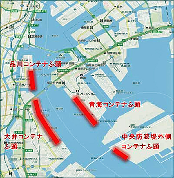 20191021tokyoto - 東京都/年末年始、コンテナターミナルのゲートオープン時間拡大