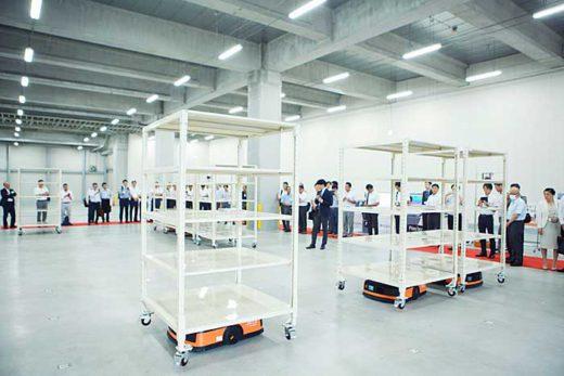 20191024cbre2 520x347 - CBRE/千葉県印西市の物流施設で自動化・合理化セミナー