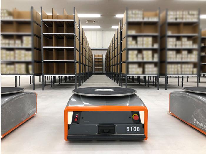 20191025mitsubishis2 - 三菱商事ほか/物流倉庫用に棚流動型ロボットを導入