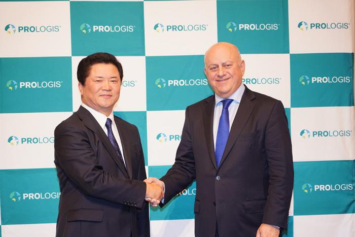 山田社長とモガダム会長兼CEO