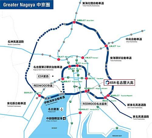 20191107esr2 - ESR/名古屋市で物流施設竣工、11月27・28日に内覧会開催